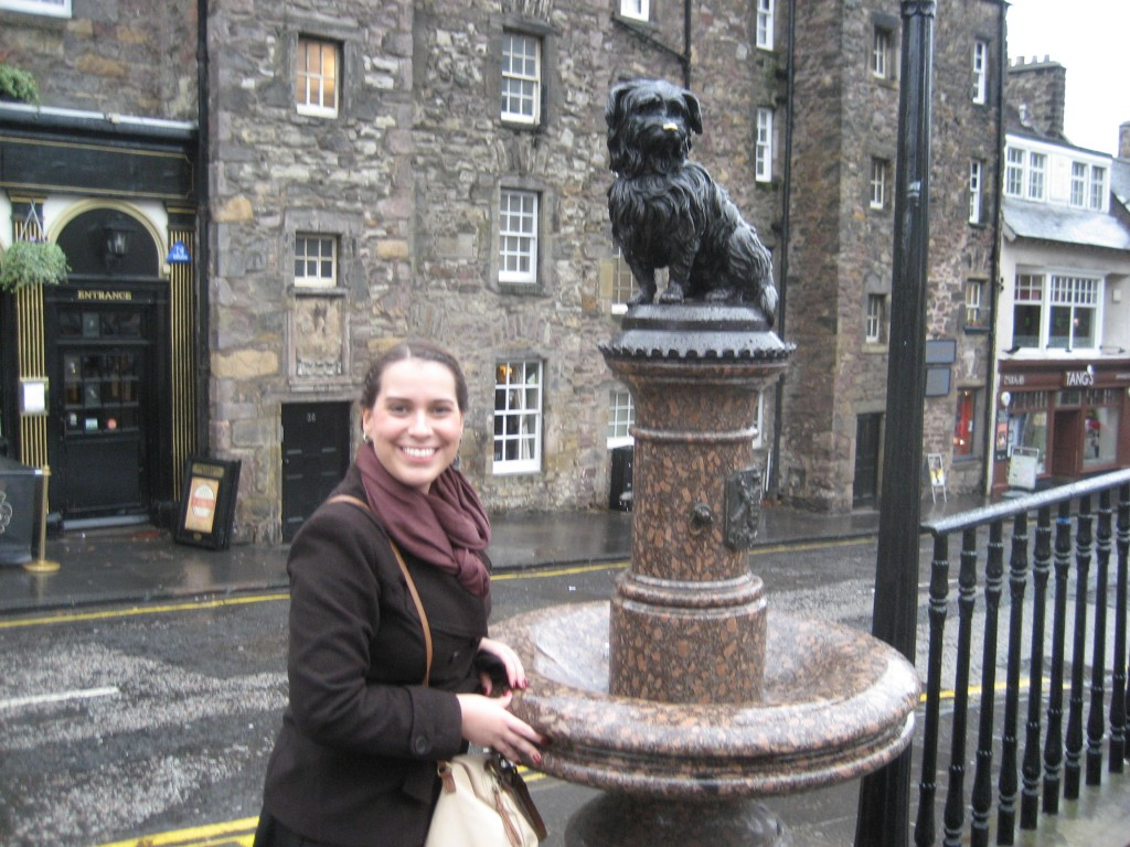 Zebruninha em Edinburgo
