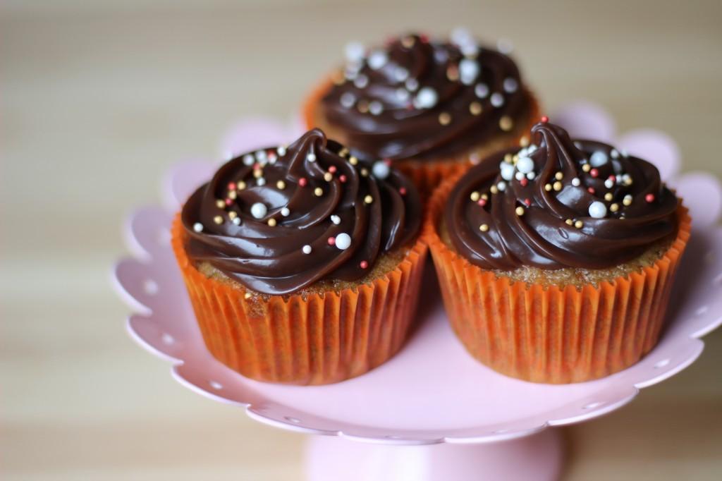 Cupcakes de Cenoura com Brigadeiro